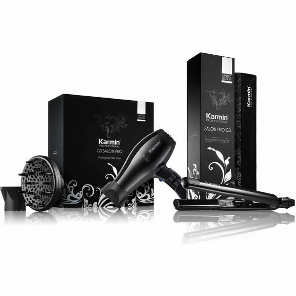 Karmin G3 Salon Pro Hair Dryer + G3 Hair Straightener Combo